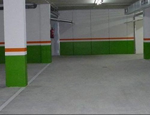 ¿Qué ocurre si alquilamos sólo una plaza de garaje?